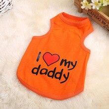 Teddy Love Daddy Dog Clothes