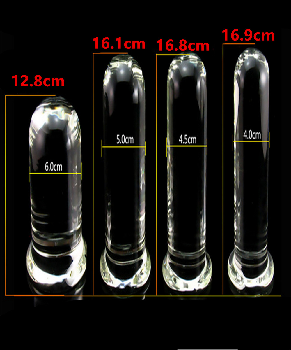 Glass Huge Dildos Penis Anal Beads Butt Plug For Female Masturbation,Fetish Erotic Sex Products Adult Toys For Women And Men Gay 7 frequency super anal plug toys 160x30mm butt plug booty beads the sex toys for male and female sex products for men and women