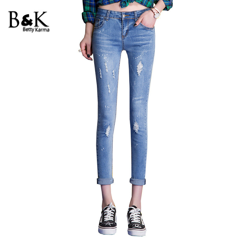 Online Get Cheap Skinny Distressed Jeans -Aliexpress.com | Alibaba ...
