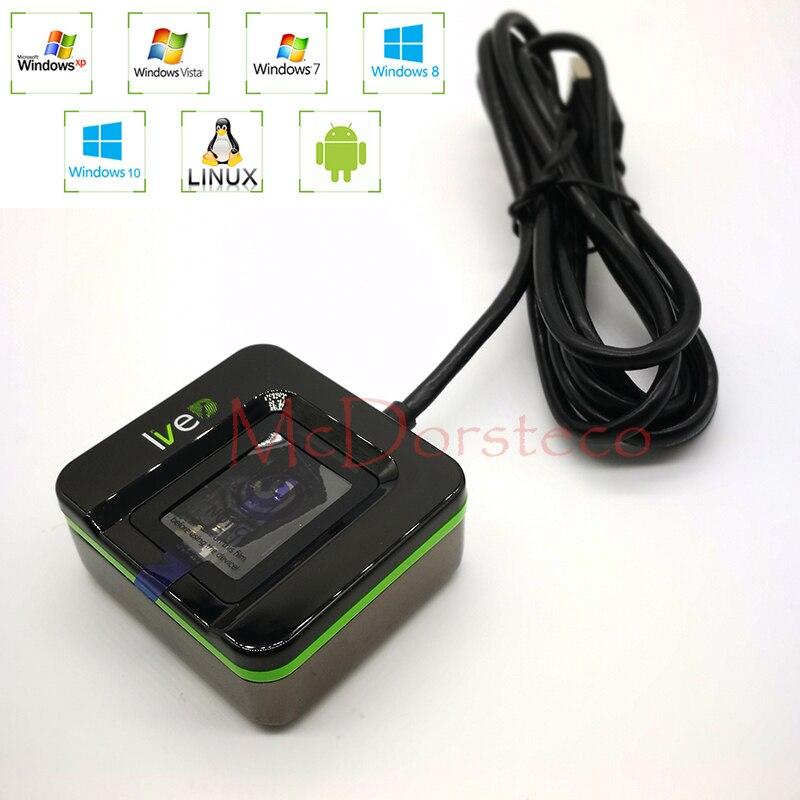 LIVE20R Andriod Fingerprint Reader Biometrics Fingerprint Scanner SLK20R Desktop Finger Enrollment And Identification Device