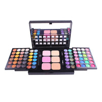 Professional Eye Shadow Palette Makeup 78 Colors Matte Blush Shimmer Shiny Eyeshadow Palette Full Color Eye