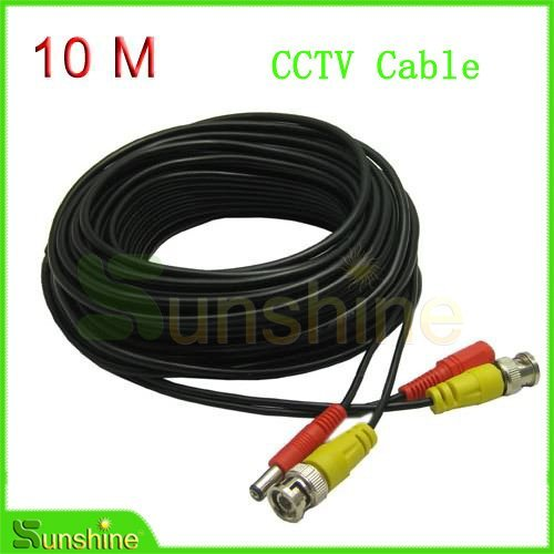 33ft 10M BNC Video Output Cable for CCTV and CCTV Camera Surveillant System