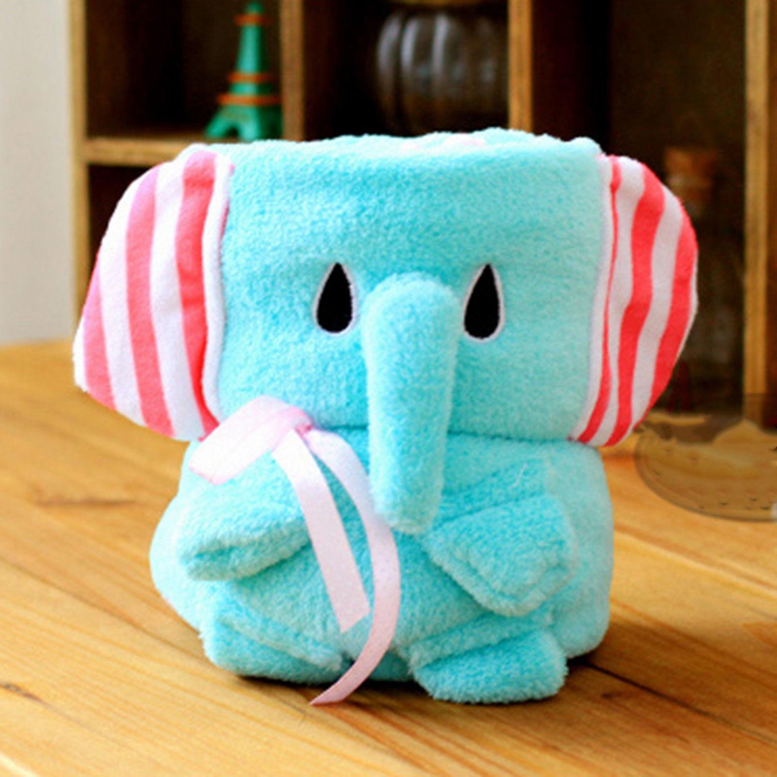 Plush Baby Blanket Newborn Swaddle Wrap Super Soft Baby