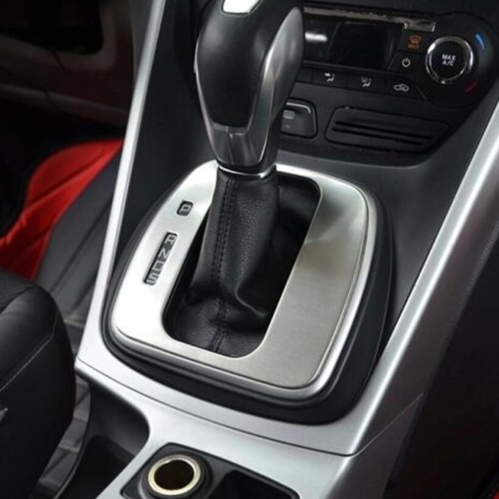Stainless steel automatic paste for ford escape kuga 2013 2014 2015 accessories for ford kuga car styling in interior mouldings from automobiles