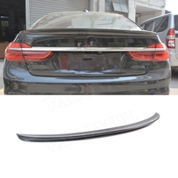 7 Series Rear Spoiler Boot Wings AC Style for BMW G11 G12 740i 750i 760i Sedan Spoiler 2016 2018 Carbon Fiber FRP Trunk Trim