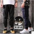 2016 nueva marca pantalones hombre pantalones hip hop pantalones basculador de la viga de algodón Puro hombres de deporte de secado rápido de color caqui