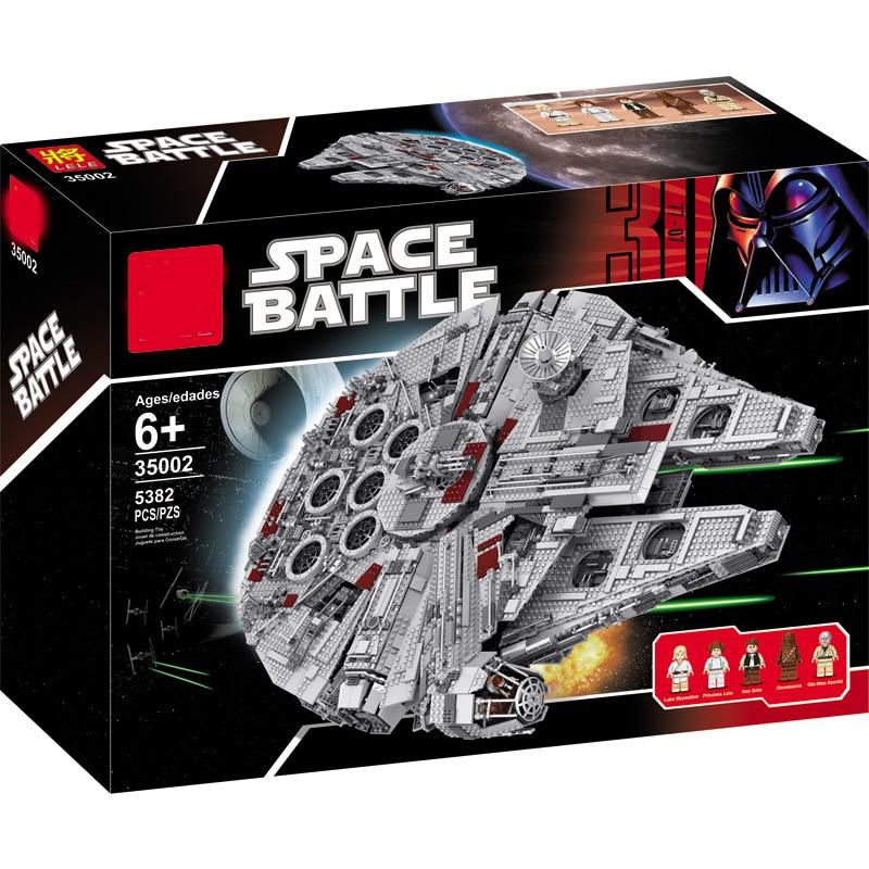 1381Pcs Millennium Falcon The Last Jedi Mini Bricks Stars