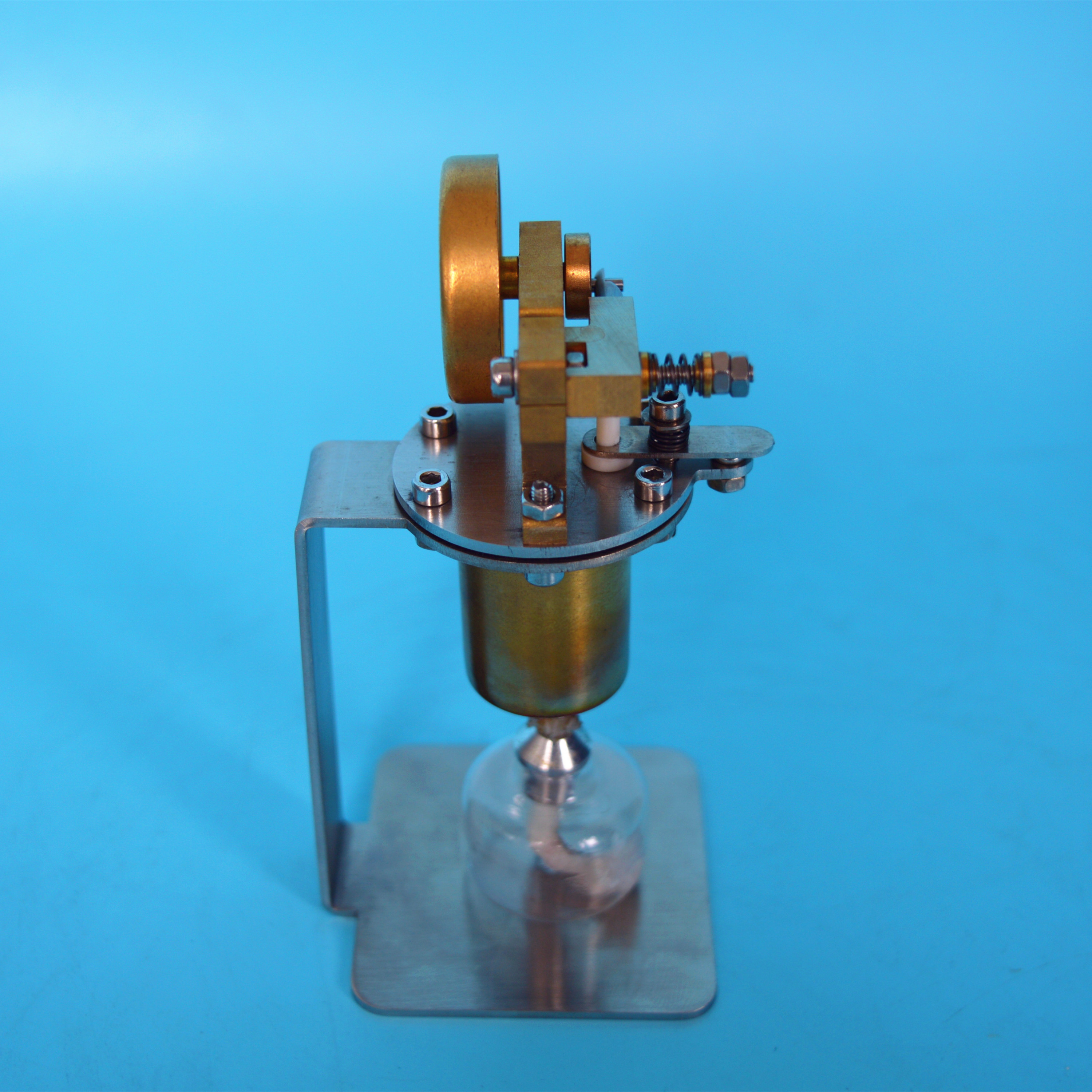 Steam Engine Model Mini All Copper Boiler Small Steam Engine Alcohol ...