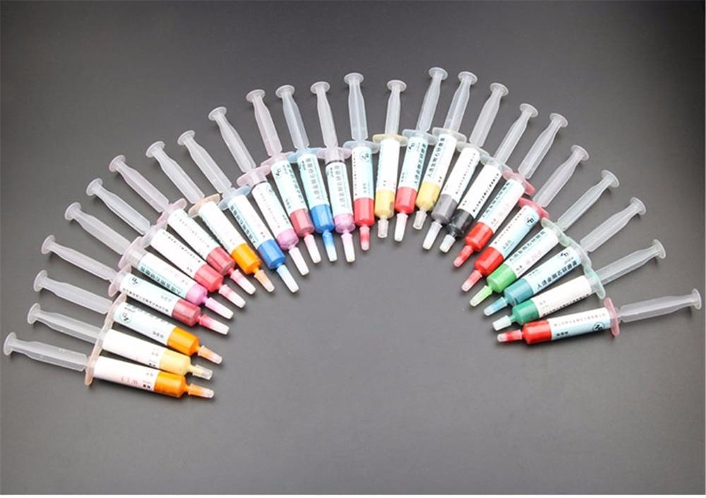 Free Ship¢Polishing Diamond Jade Lapping-Paste Compound 12pcs/Set Syringes Jewelry 5g