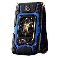 Flip Double Dual Screen Dual Speaker Dual SIM Card 16800mAh Long Standby FM Mobile Phone For