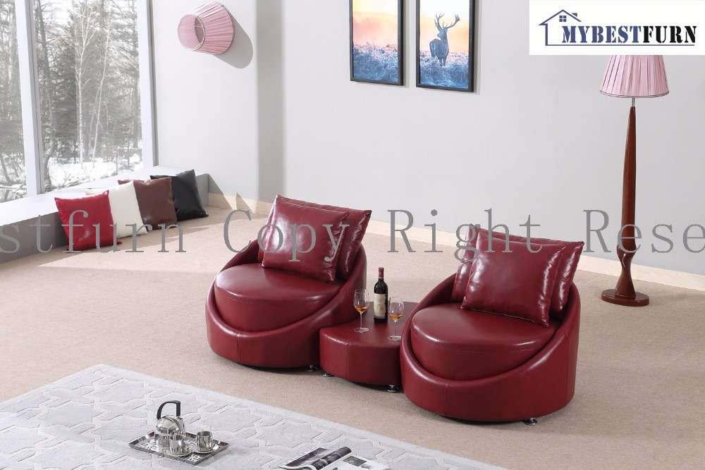 Mybestfurn Luxury Italian Leather Sofa New Designer Couches Filled With Feather \u0026 Down Sofa Table Set Furniture-in Living Room Sofas from Furniture on ... & Mybestfurn Luxury Italian Leather Sofa New Designer Couches Filled ...