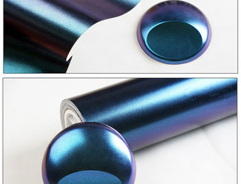 Pegatina Para Coche   Brillante Camaleón Perla Brillo Vinilo Pegatina Coche Todo El Cuerpo Envoltura Película Diamante Brillo Vinilo Película 1,52 M X 1 M