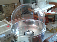 Free shipping the part of cotton candy machine cover /candy floss machine wind cap 520MM