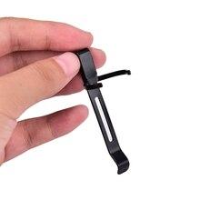 2 шт. Мини карманный Универсальный зажим подходит для S2/S2+/M1/C8 черный цвет Портативный вспышка светильник фонарь светильник лампа зажим