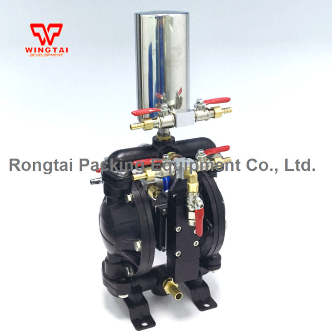 With tank Spraying Suit BML-15C Double Way Pneumatic Diaphragm Ink Pump 15l min ptfe aluminum alloy double way pneumatic diaphragm pump spraying suit 10 c