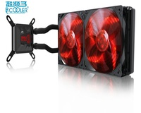 PcCooler Freeze 120 240 CPU Water Cooling Dream LED 120mm Or Double 120mm Quite PWM Fan