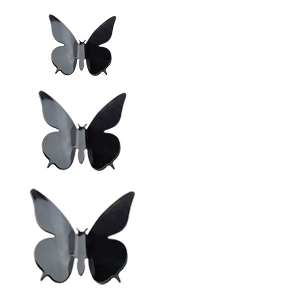 popular butterfly 24 buy cheap butterfly 24 lots from china hgho 3d diy wall sticker butterfly home decor room decorations 24 pcs b2 china