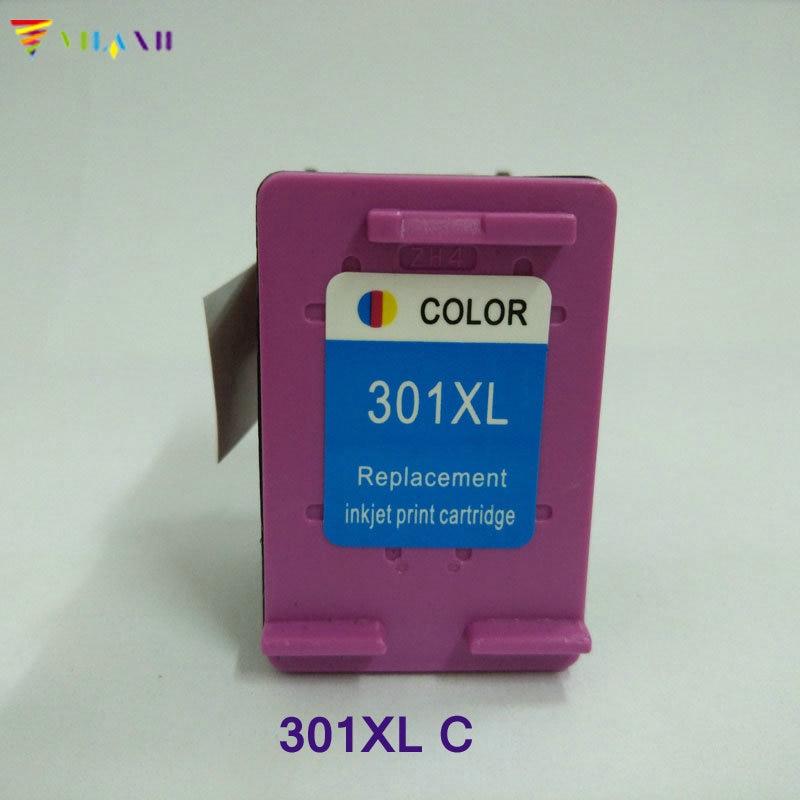 Vilaxh compatible 301 Ink Cartridge replacement For HP xl Deskjet 1050 2050 2050s 3050 Envy 4500 4502 4504 5530 5532 printer
