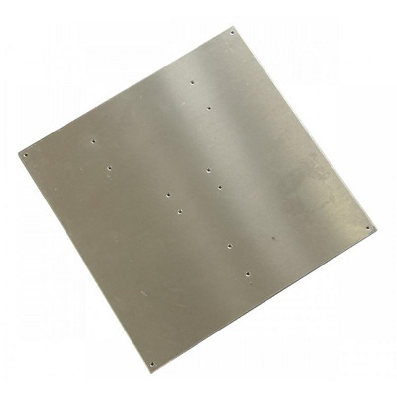 Geeetech 220*220*3mm MK2 Hotbed Aluminum Plate For Reprap Mendel 3D Printer стоимость