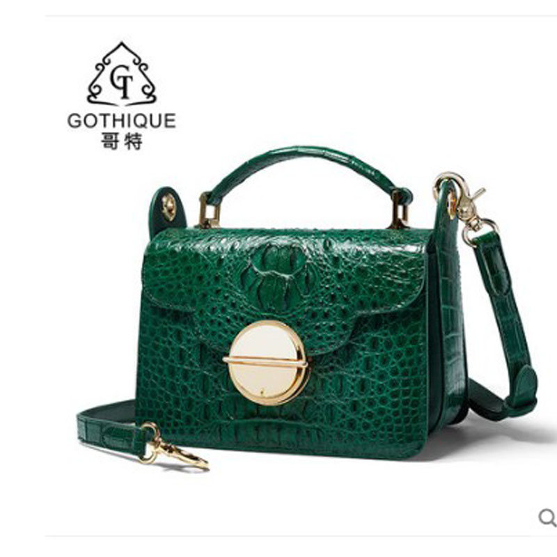 gete 2019 New Thai crocodile leather lady bag crossbody bag leather hand bill of lading shoulder bag fashion casual small squaregete 2019 New Thai crocodile leather lady bag crossbody bag leather hand bill of lading shoulder bag fashion casual small square