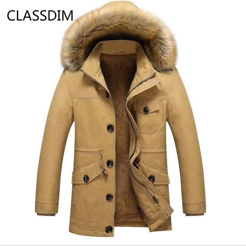 Clásdim chaquetas de invierno de abrigo para hombre de buena calidad con capucha más gruesa, abrigos de invierno para hombre, nuevas chaquetas de invierno con forro de lana para hombre