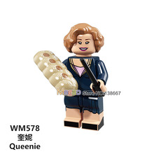 For Legoing Harri potter Figures Fantastic Beasts Rubeus Dobby Hagrid Seamus Finnigan Hermione Bricks Model building Blocks Toys(China)
