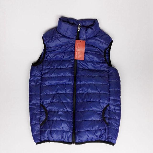 New Men Vest Winter Jacket Lovers Slim Short Jackets Sleeveless Casual suit Girl Boy Male Jackets Coat keep warm