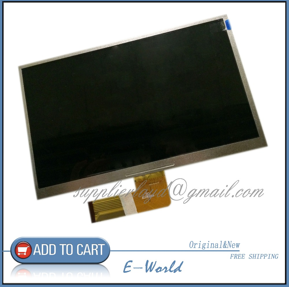 Original 10.1 inch 40PIN TFT LCD Display Screen SL101DH21B2 AL0624A Tablet PC Inner Screen