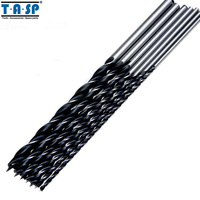 Free Shipping 7PC 12 300mm Brad Point Drill Bits Set Tools Wood Boring Extra Long Drill