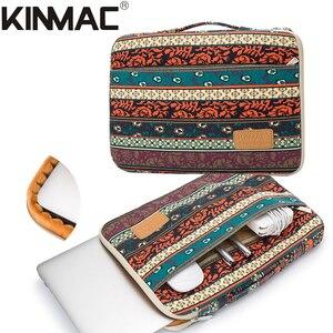 """Image 2 - 2020 marka Kinmac torba na laptopa 12 """",13"""",14 """",15"""",15.6 """", odporny na wstrząsy Lady Man rękaw Case dla MacBook Air Pro 13.3 teczka Dropship"""