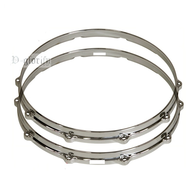 14inch 10 hole drum rim Die-cast snare drum hoop suerte 14 3 5 snare drum high quality stainless steel shell die cast hoop drum percussion instrumentos musicais profissionais
