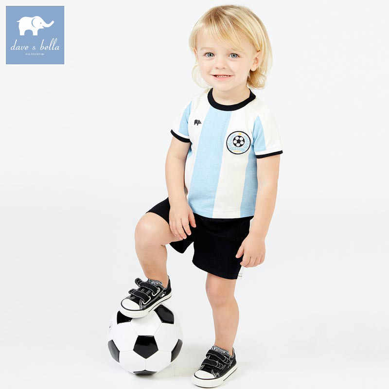 c7904255654e ... DB7612 dave bella summer baby boys striped clothing sets children sport suit  kid s high quality clothes ...