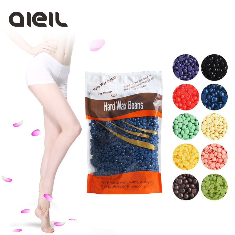300 g ny taskevarmer hårfjerning voks kropsbønner bikini hårfjerning voks hårfjerning bønne skilt med neonlys