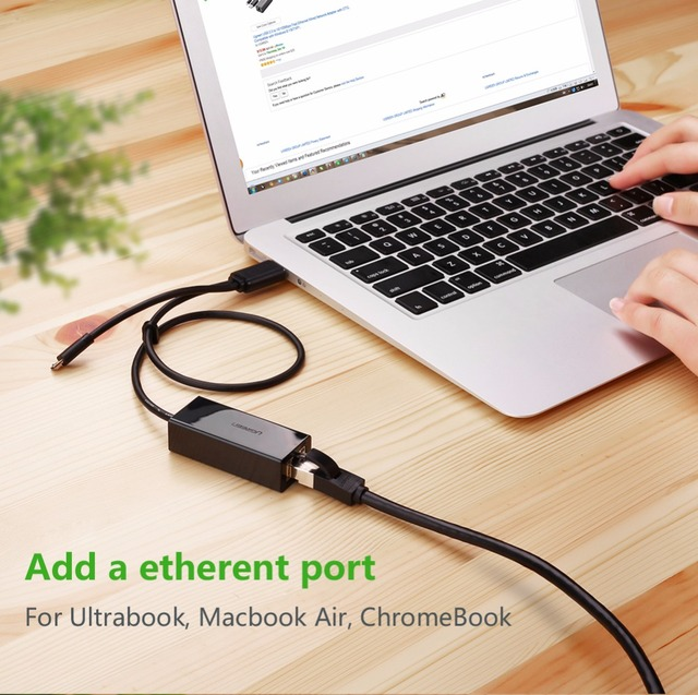 Ethernet Micro USB 2.0 Adaptive Cable