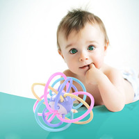 New Brand Soft Baby Teether Toys Boiled Rattles Baby Newborn Early Educational Toys 0 1 Years