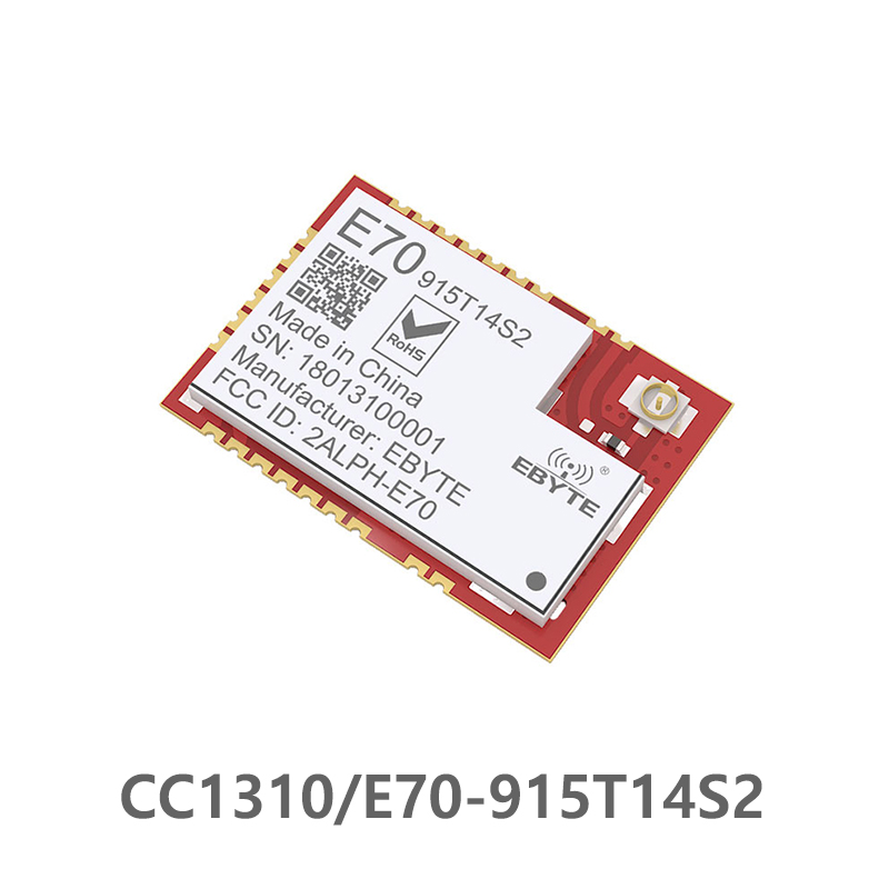 E70 915T14S2 CC1310 915MHz Wireless rf Module CC1310 UART Transceiver SMD 915M ModuleUART iot Transmitter and Receiver-in Fixed Wireless Terminals from Cellphones & Telecommunications