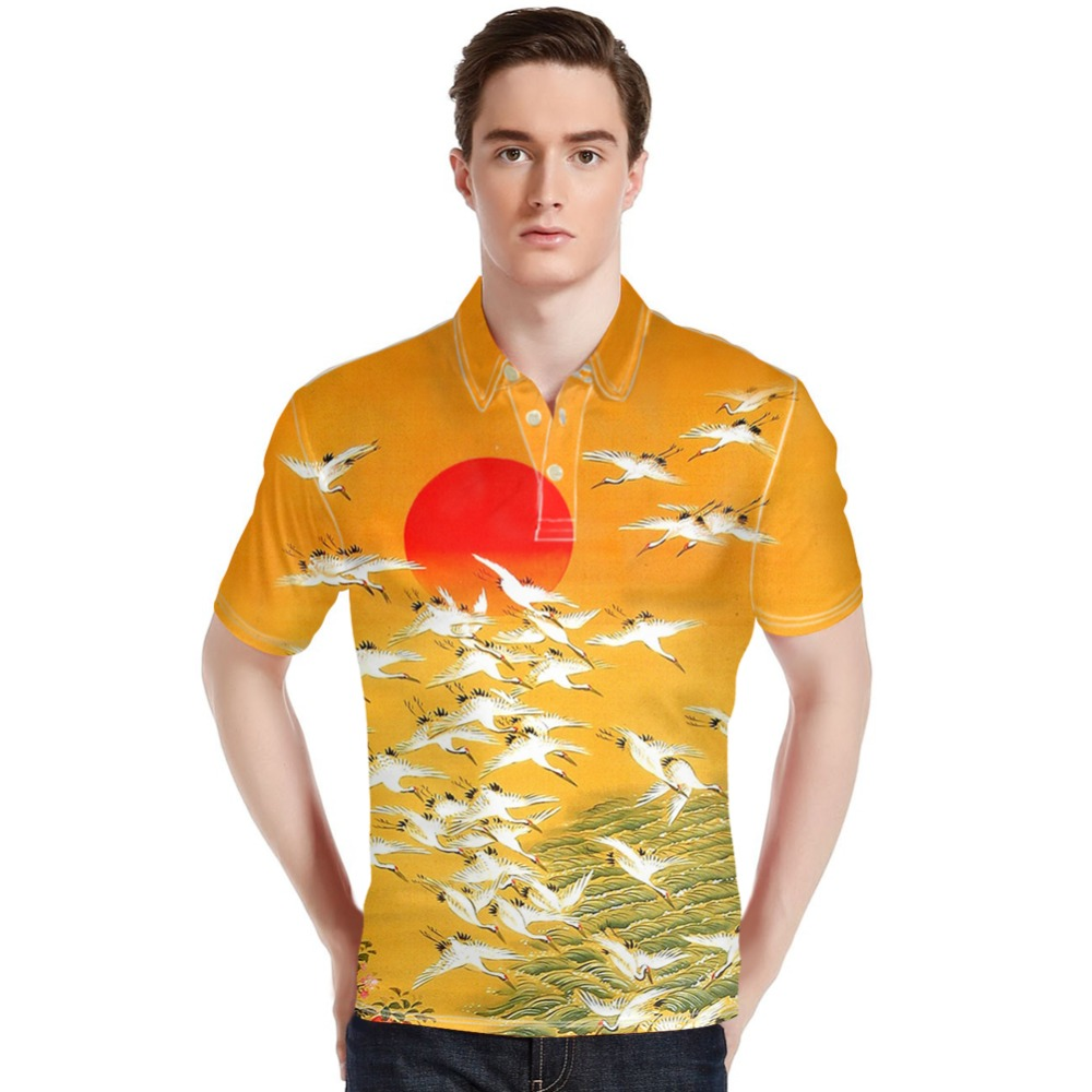Forudesigns Men Polo Shirts Wholesale Harajukutops Tees Summer