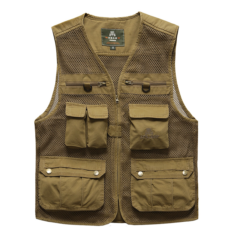 New mens outdoor mesh vest high quality multi-pockets camera men shooting tactical hunting camping hiking vest men colete tactical vest men training cs tactical breathable men hiking vest outdoor sport military hunting shooting vest men hmt0034 5