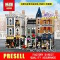 LEPIN 15019 4002 unids Montaje Cuadrada Creador City Series Modelo Kits de Construcción de Juguete Ladrillo Compatible 10255