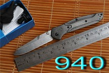 JUFULE OEM BM 940 943 S90v Axis folding knife carbon fiber Copper washer hunting camping Pocket outdoor Survival EDC Tool knives
