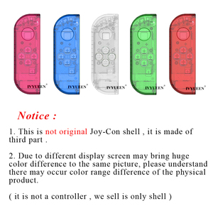 Image 4 - IVYUEEN for Nintendoswitch NS Joy Con Controller Transparent Clear Replacement Housing Shell for Nitendo Switch Joy Con Cover