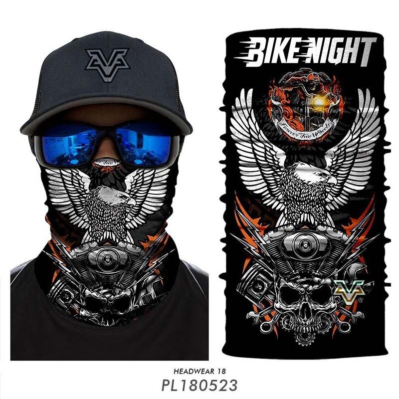 Windproof harley Moto Cycling bandana ciclismo men Fishing scarf man Camouflage Camo Bandanas Face Mask Neck Scarfs Headband