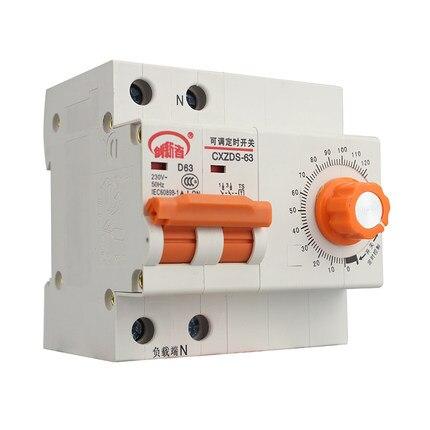 Protezione da sovraccarico 63A/12000 w timer meccanico timer interruttore interruttore della pompa dell'acqua
