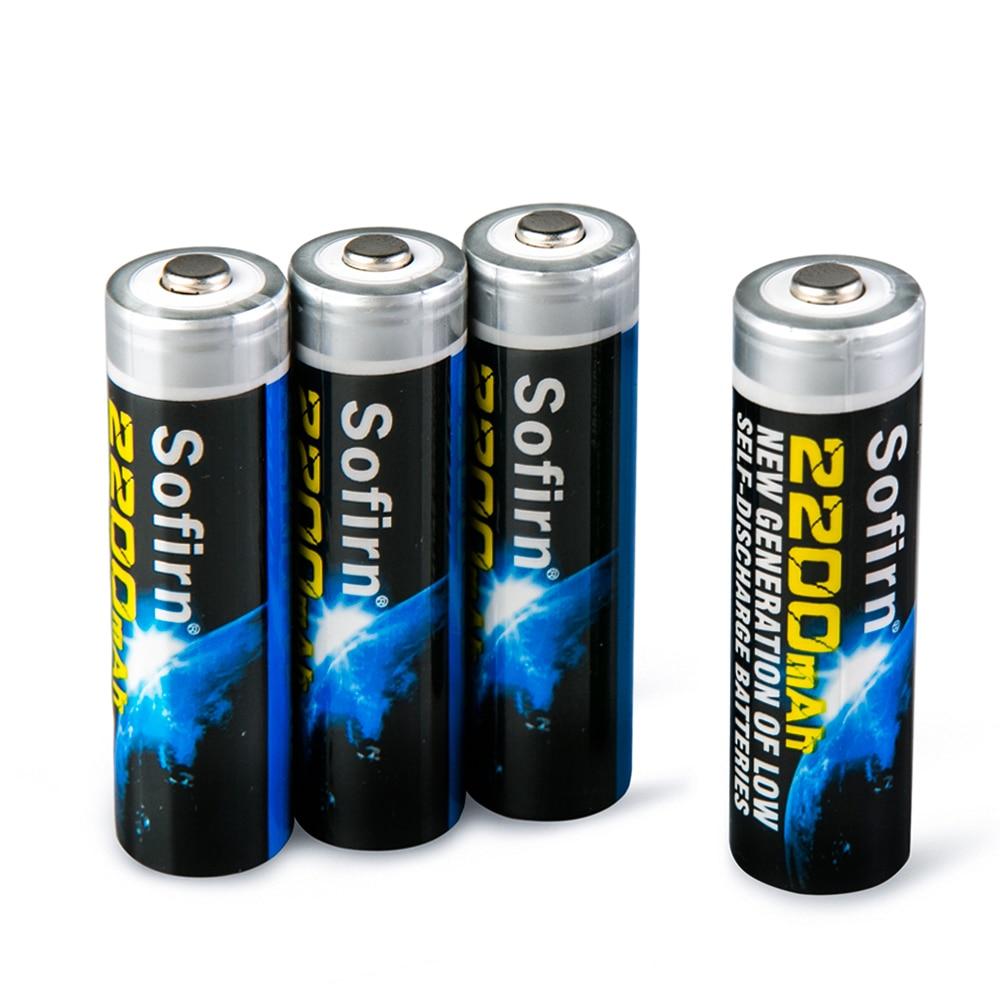 где купить LED flashlight AA NiMh 2200mAh Rechargeable Batteries with 1100 Cycle High Capacity Precharged Battery 4 Pack Eco-friendly по лучшей цене