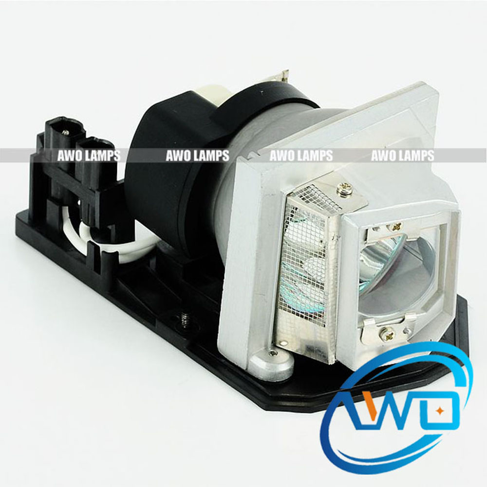 AWO Original Projector Lamp EC.K0100.001 with Housing X1161/X1261/X110 with P-VIP180W Bulb inside compatible x110 x110p x111 x112 x113 x113p x1140 x1140a x1161 x1261 ec k0100 001 for acer p vip 180 0 8 e20 8 projector bulblamp