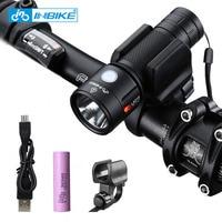 INBIKE Bike Light Bicycle Flashlight LED Bike Front Light Cycling 1000 Lumens Waterproof USB Rechargeable Headlight Biking Lamp