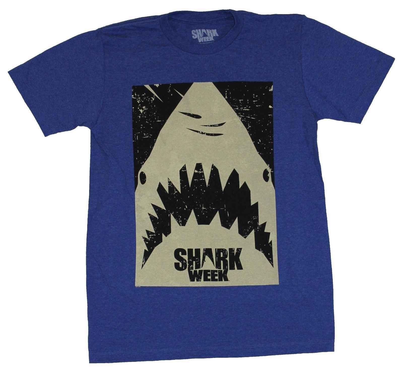 d1e2d6e5ea Detail Feedback Questions about Shark Week Mens T Shirt Stamped ...