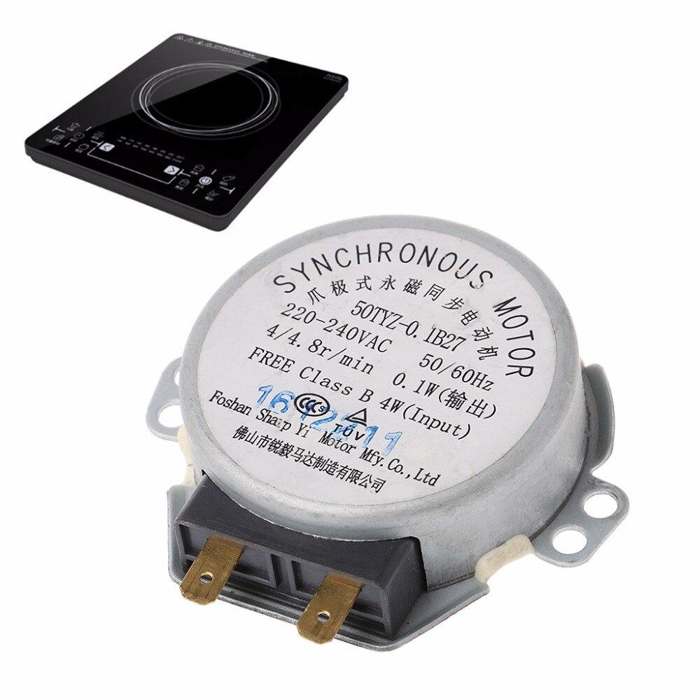 Streng 220-240 V Mikrowelle Tablett Synchron Motor Für Mikrowelle Motor Teile Spezieller Sommer Sale