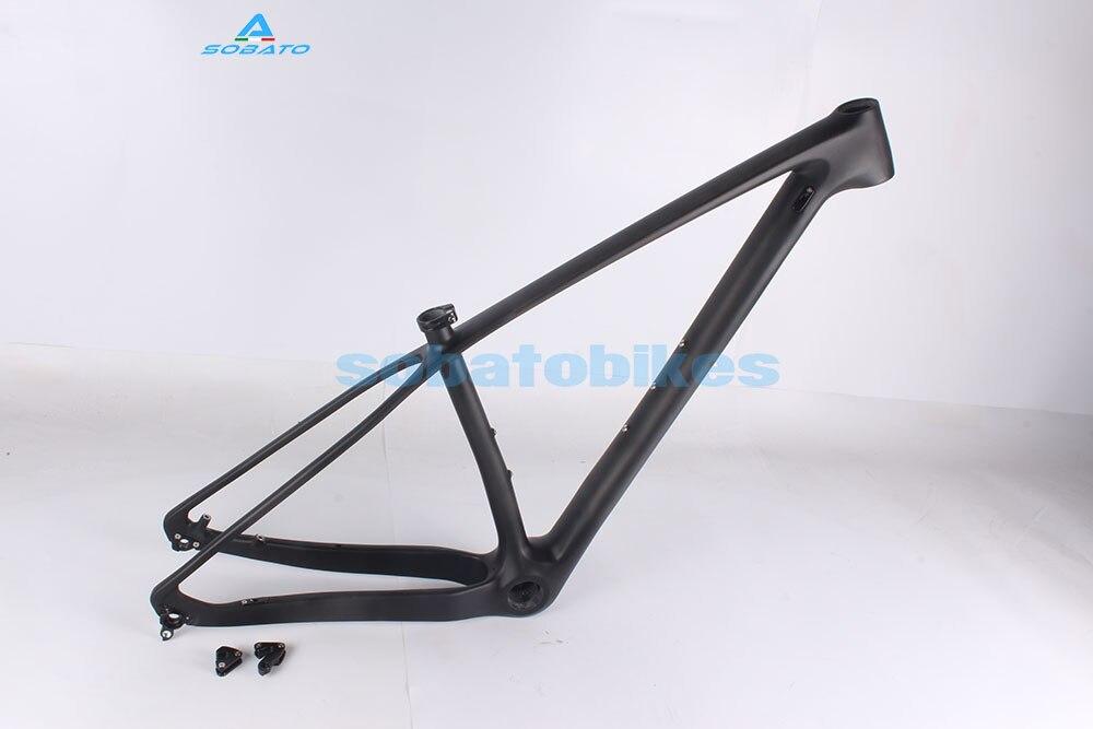 In stock 2016 NEW MTB Bike 29er Carbon Frame ,super light Disc Brake MTB carbon frame 17 BSA ud Matt 29ER MTB carbon frame concept driven 2sc0435t 2sc0435t2a0 17 new stock