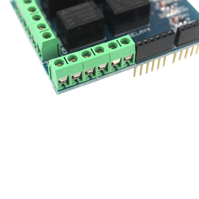 5V Four 4 Channel Relay Shield Module Control Expansion Board